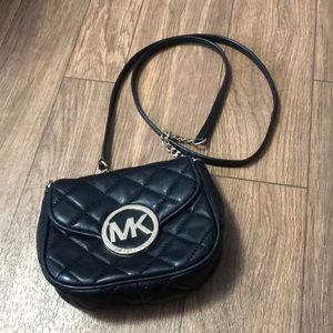 Michael Kors Fulton Quilted Crossbody EUC